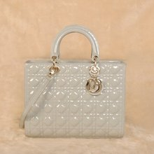 wholesale large patent tote
