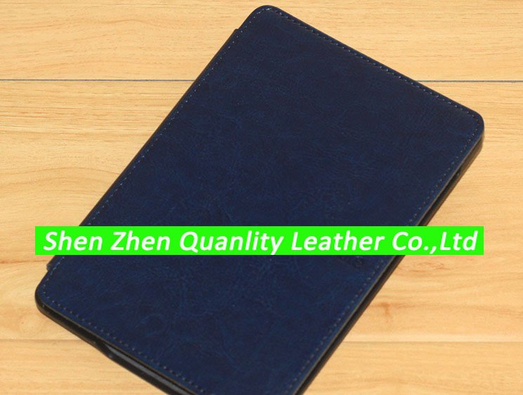 Hard back kindle leather case for Amazon kindle touch WIFI 3G with kindle logo 20pcs/lot DHL free shipping(China (Mainland))