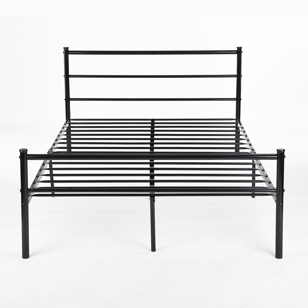 Strong Structure Stainless steel double bed Frame Good-looking and modern style Bedroom Furniture Large loading Ability king bed(China (Mainland))