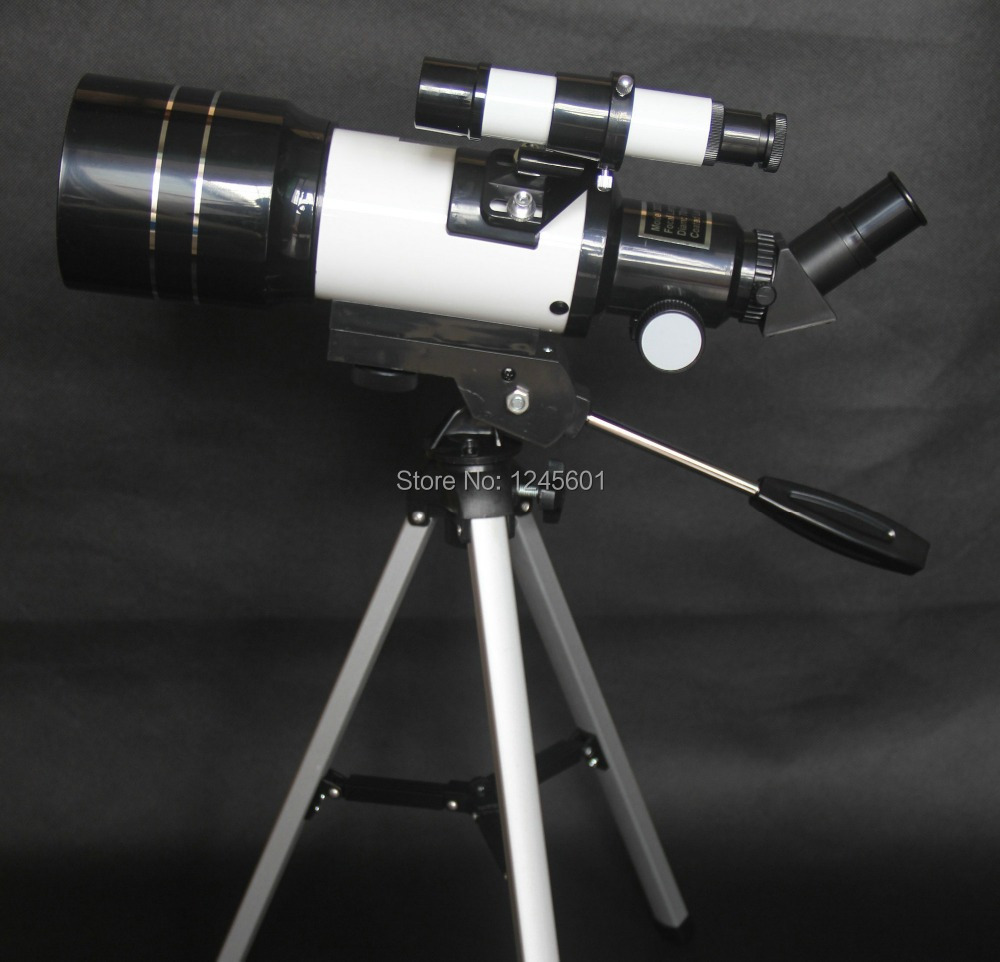 225x Professional F300 x 70(300/70mm) HD Monocular Space Astronomical Telescope(Erect Image Optics)(China (Mainland))