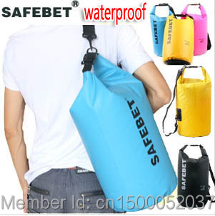 5 Colors Dry Case 5L Outdoor Thicken Waterproof Bags Big Pouch Canoe Kayak Rafting Camping Swimming beach Sea wade drifting - KEEP DIVING store