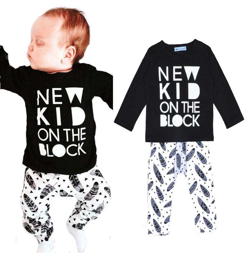 baby boy clothing sets sport 2016 autumn feather baby sport clothing set for boy 2016 letter sport baby boys clothing sets 2016(China (Mainland))