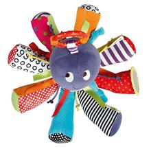 Baby rasseln Octopus Spielzeug bett hängen Glocke für BB zauberspiegel infant puppe beißring lernspielzeug(China (Mainland))