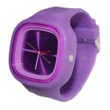 Practical-Silicon Jelly Watch Unisex(China (Mainland))
