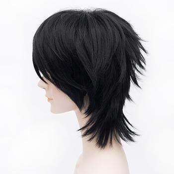 [Code Geass] Character Lelouch Vi Britannia 30cm Black Short Hair Cosplay Wig