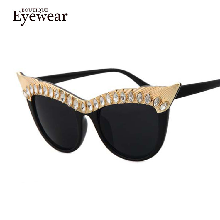 Designer Eyeglass Frames Bling : BOUTIQUE Newest Brand Women High Quality Designer ...