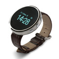 2015 New Bluetooth Smart Watch D360 Round Wristwatch Sync Pedometer Sleep Music Player Smartwatch for Androd