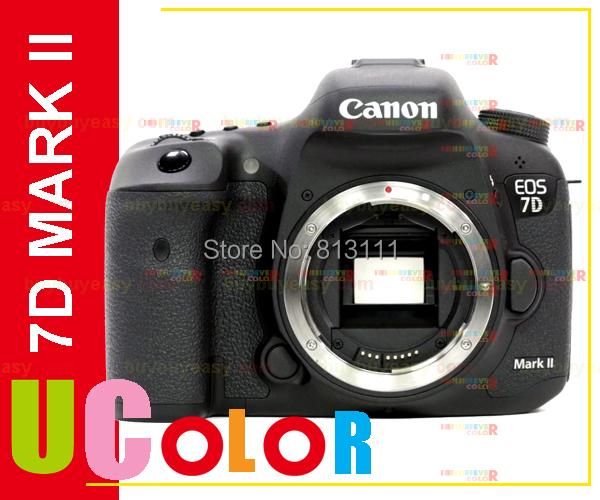 Genuine New Canon EOS 7D Mark II DSLR Camera Body Only - Black (Japan Version)(Hong Kong)