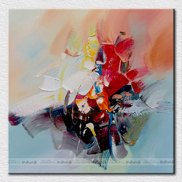 Canvas pictures for kitchen handpainted abstract oil painting modern decoration arts for businessman gift(China (Mainland))