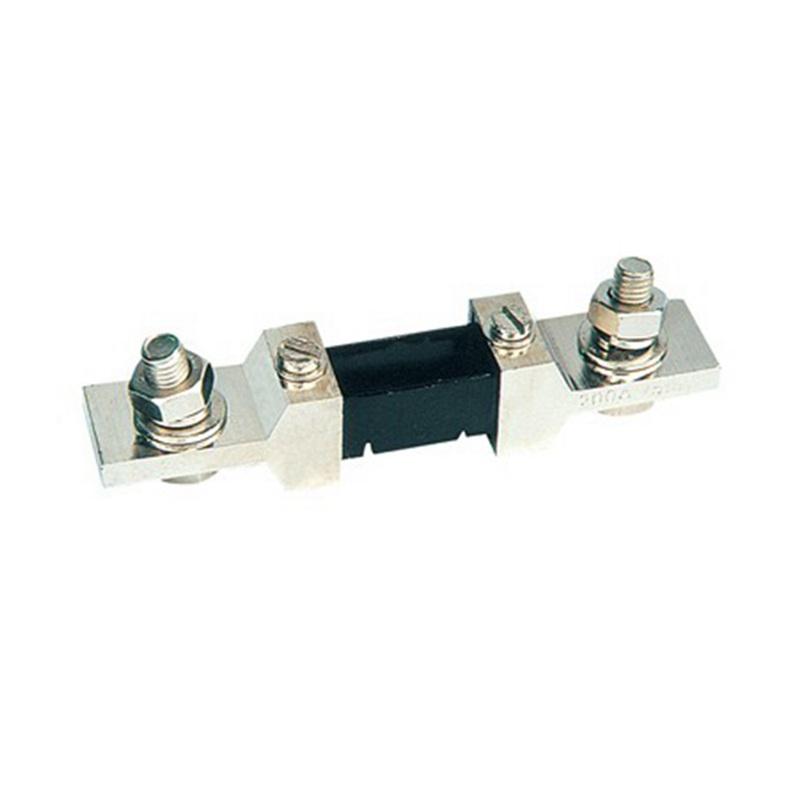 DC 200A/75mV Shunt Resistor for 0-200A Ampere Panel Meter Shunt Currect Monitor AMP Gauce