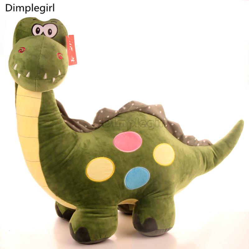 Kids Toy Dinosaur Plush Stuffed Animal Funny Big Eyed Doll For Baby Boy Girl Christmas Birthday Gift(China (Mainland))