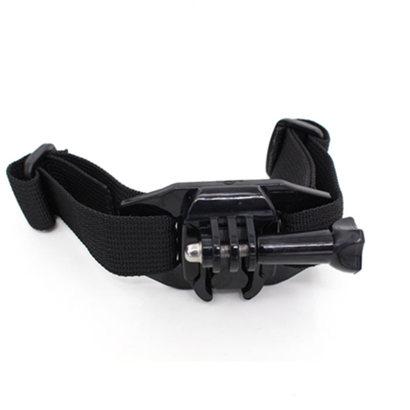 for Xiaomi Yi Accessories Vented Adjustable Helmet Strap Mount Buckle base for Gopro Hero 4 3 Sjcam Sj4000 Go Pro Action Camera