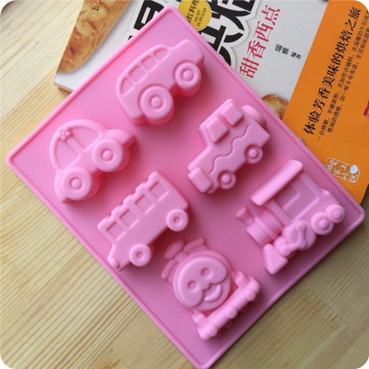 new arrival car and train shape silicone cake bakeware pan form to bake cakes cookies cooking tools cake designe(China (Mainland))