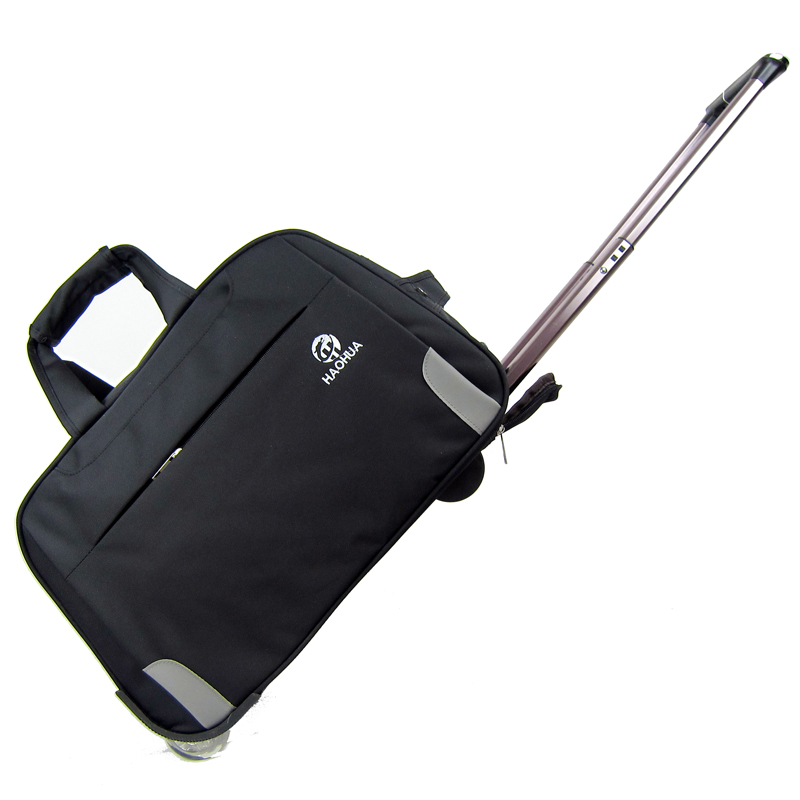 Free Shipping trolley bag luggage waterproof large capacity trolley rolling luggage suitcase(China (Mainland))
