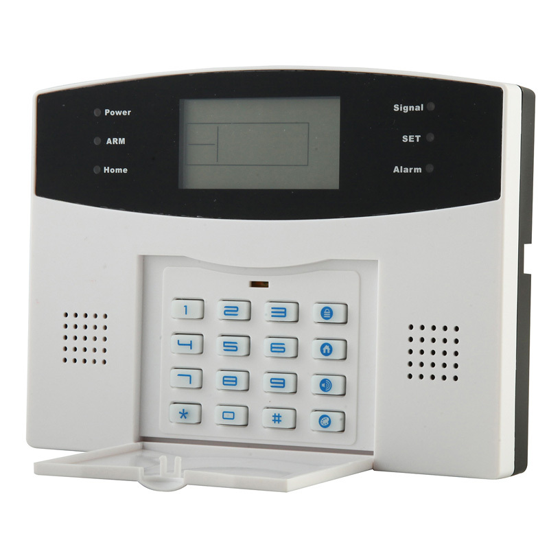 DHL Free Shipping Wholesale Wireless 433MHZ GSM SMS Home Burglar Security Alarm System Detector Sensor Kit