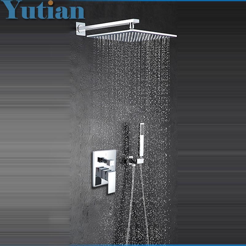 free shipping modern luxury 12 inch big bath shower