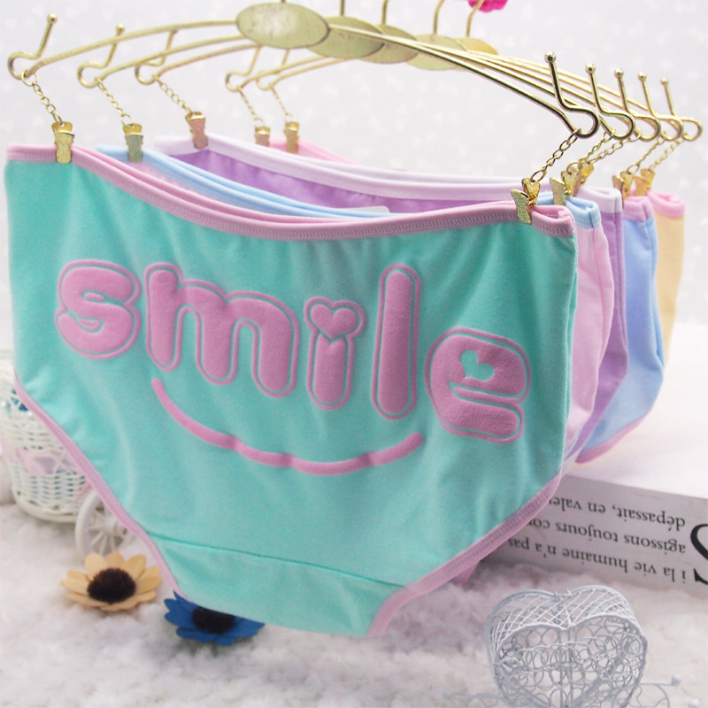 2016 Brand Hot Selling Cotton Women's Briefs panties panty Women female lower Underwear Women Sexy Cotton Girls cute(China (Mainland))
