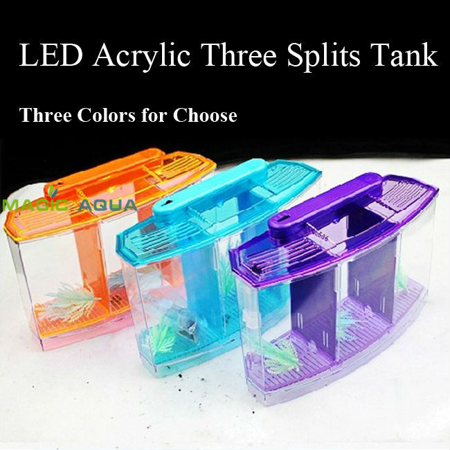 Acrylic fish aquarium led lights reviews online shopping for Best place to buy betta fish