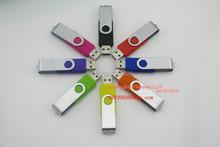 Бесплатная оптовая продажа повернуто USB 1 ГБ 2 ГБ 4 ГБ 8 ГБ 16 ГБ 32 ГБ привод флэш-память USB привода ручки более количество USB Флэш-накопитель может собственный логотип