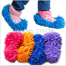 10PCS/Lot Mop Slipper Floor Polishing Cover Cleaner Dusting Cleaning Foot Shoes Nuevo Novetly Zapatos Baratos Cubre Limpiador(China (Mainland))