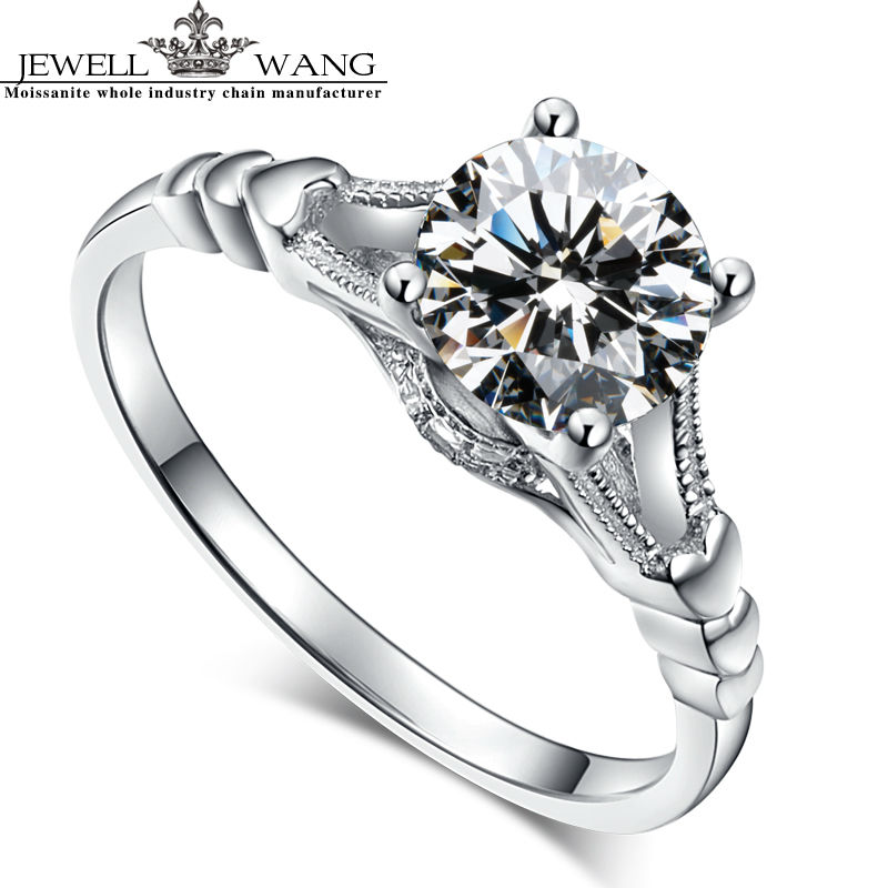 line Get Cheap Moissanite Engagement Rings Aliexpress