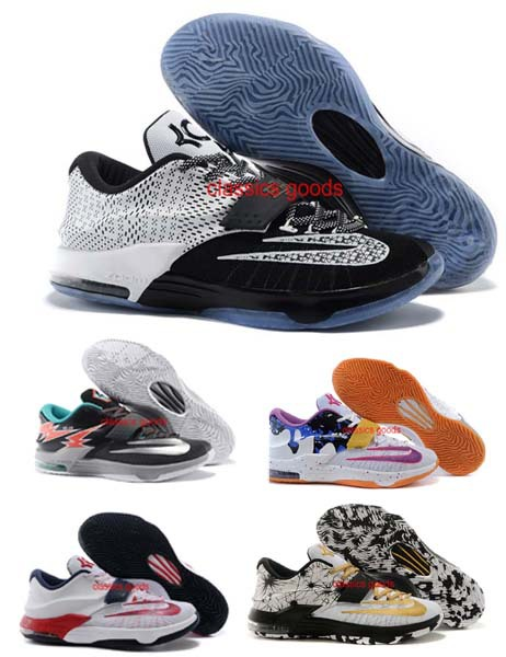 CHEAP WHOLESALE KD BHM SHOES HIGH QUALITY 2015 KD 7 SHOES BASKETBALL SHOES(China (Mainland))