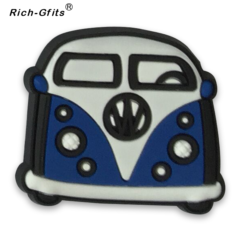 Stocks Promotional Gifts 3D soft rubber Cartoon car refrigerator magnetics decoration Stickers (RC-R-012)(China (Mainland))