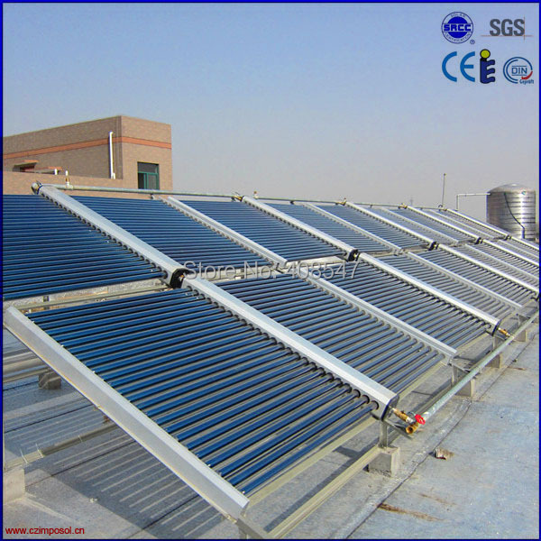 split low pressure solar heating system(China (Mainland))