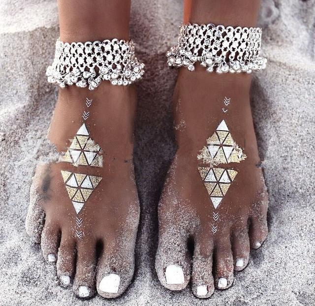 2016 мода старинные женщин лодыжке браслет ног антиквариата ювелирных изделий ножной ...