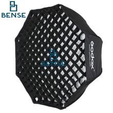 GODOX 80 cm/32 «Octagon Paraguas Softbox Photo Studio Flash Speedlite Reflector Difusor con Rejilla Tipo Panal