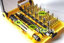 Iphone ipening, ranurado, hexagonal, destornillador phillips, 45 en 1 45-en-1 de electrones herramienta Torx del destornillador