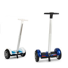Hot Sale 8 inch 10 inch Electric Self Balancing Scooters Two Wheel Smart Standing Scooters Hoverboard Skateboard Handle Bar F1(China (Mainland))