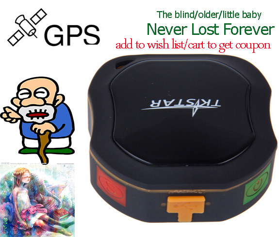 Best Practical GPS Tracker Mini Waterproof Locator Support GSM/GPRS Network for Car Baby Older People(China (Mainland))