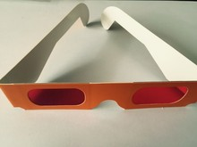 ON SALES orange frame paper decoder glasses can see the message hidden on the paper PA0001RR 3d glasses(China (Mainland))