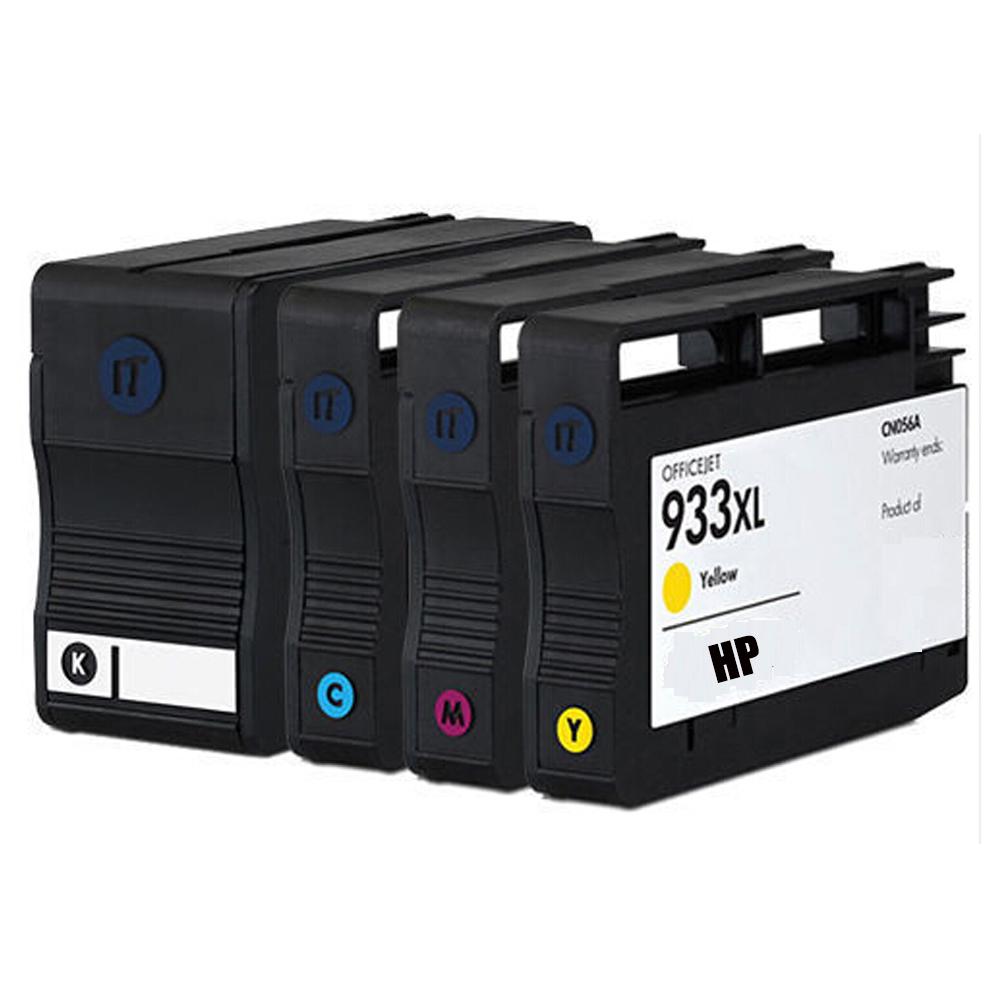 4x Compatible 932XL 933XL ink cartridge For HP OfficeJet Pro 6100 6600 6700 HP OfficeJet 7110 7610 Wideformat Printer<br><br>Aliexpress