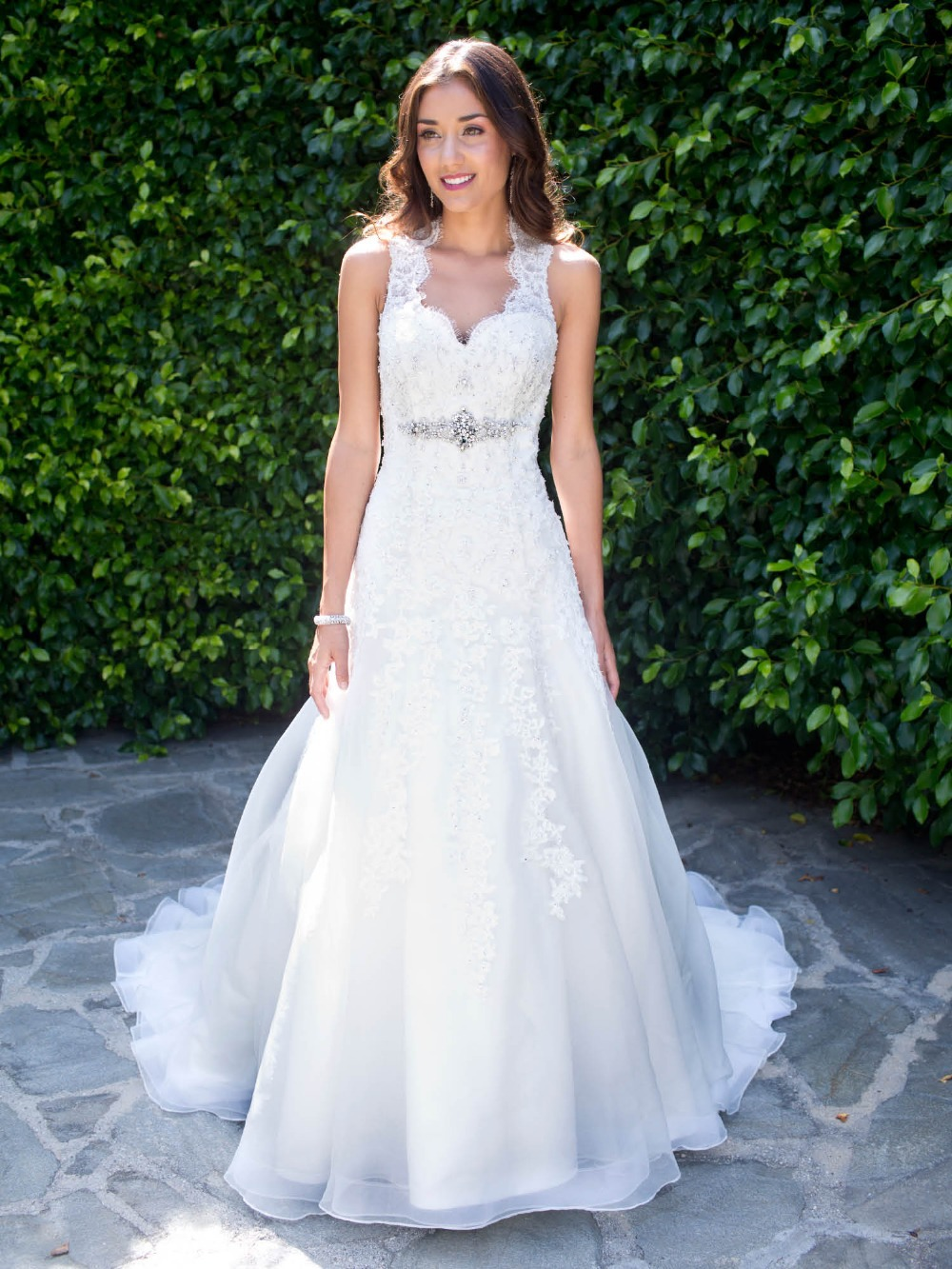 2015 elegant trumpet long wedding dress bridal gown for Trumpet wedding dress with long train