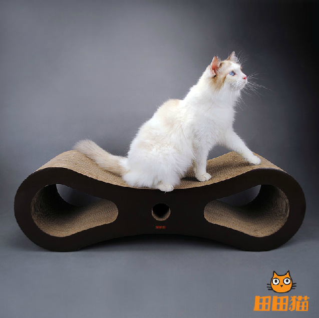 Creative large corrugated paper scratching post/Cat Toy/Cat scratch bed/cat furniture / scratching posts for cats(China (Mainland))