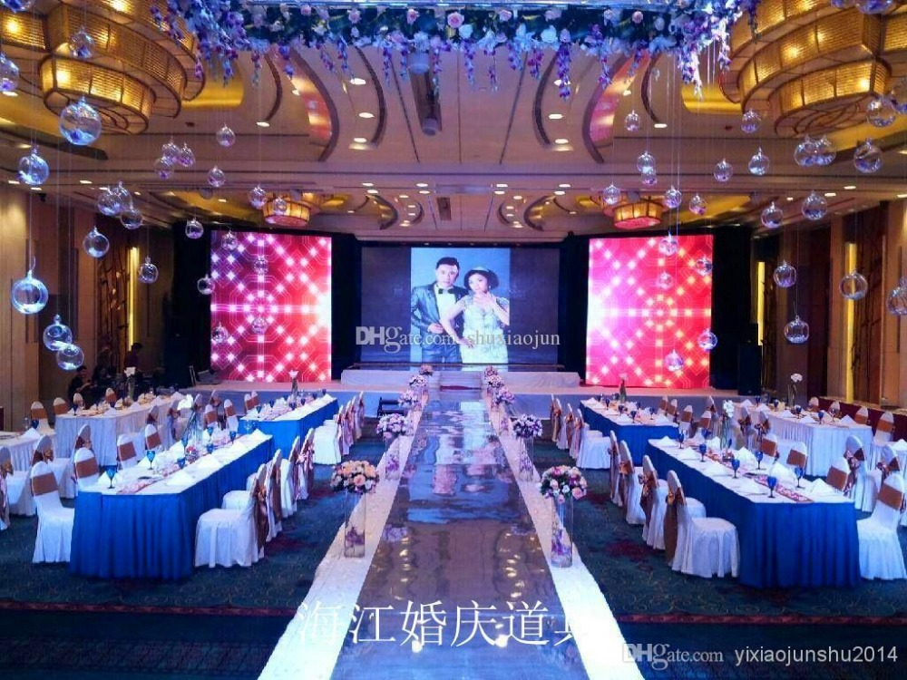2015 New Romantic Mirror Carpet wedding carpet Mirror