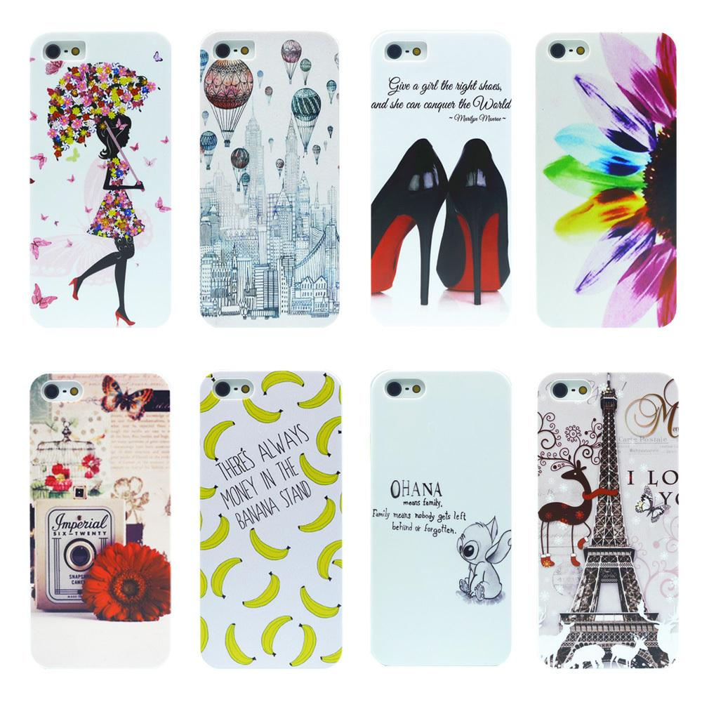 Fashion Painted Design Luxury Hard Case Cover For iphone 4 4G 4S For apple iphone ss cover case Free shipping(China (Mainland))