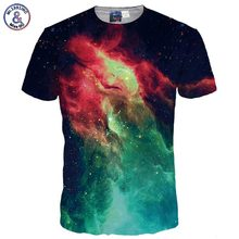 Buy Mr.1991INC Fashion 3d T-shirt Men/Women Summer Tops Tees Print Volcanic Space Galaxy T shirt Male Tshirts for $9.34 in AliExpress store