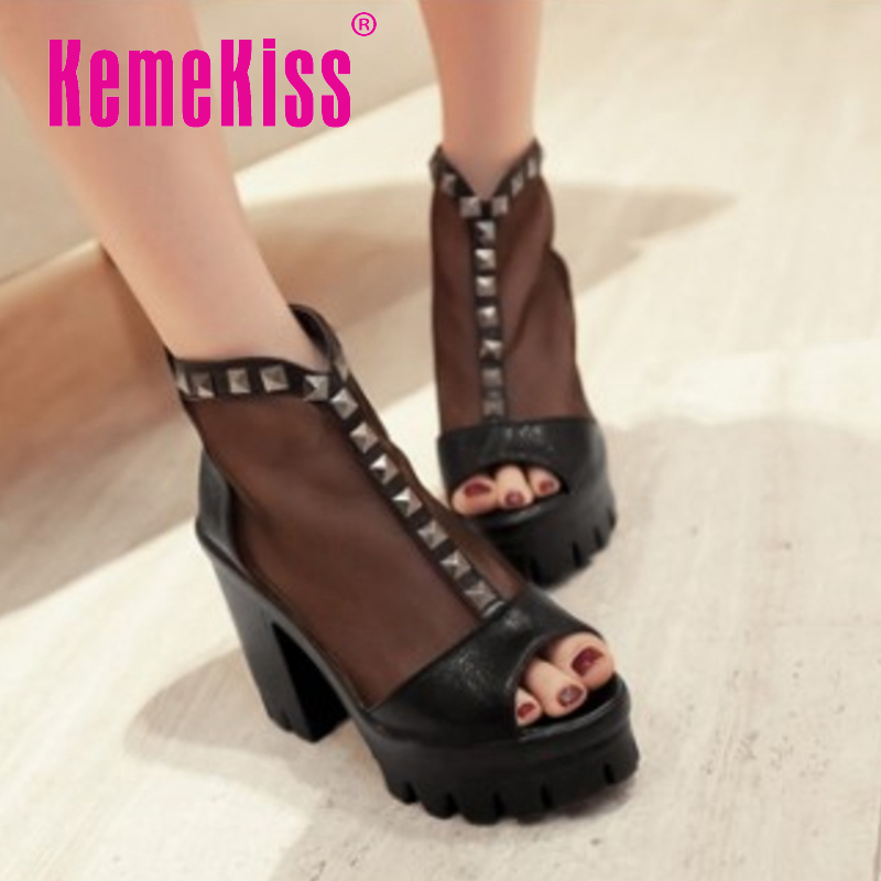 Free shipping quality high heel sandals fashion women dress sexy female platform shoes slippers P14433 hot sale EUR size 34-39<br><br>Aliexpress