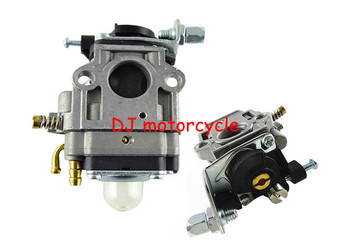 Free shipping 2 stroke dirt bike carburetor cheap  pocket bike carb promotion  2 stroke engine car for mini Quad 49cc ATV 15mm