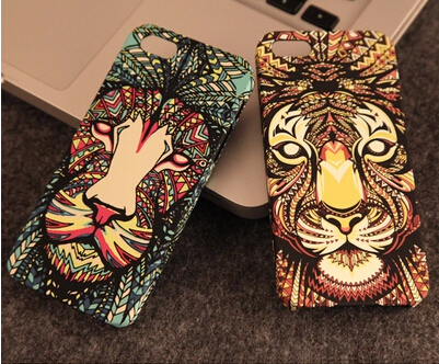 Wild Animal Series Tiger Wolf Case Cover Apple iPhone 5 5S Owl Phone - ShenZhen ChengXiang Technology co., LTD store