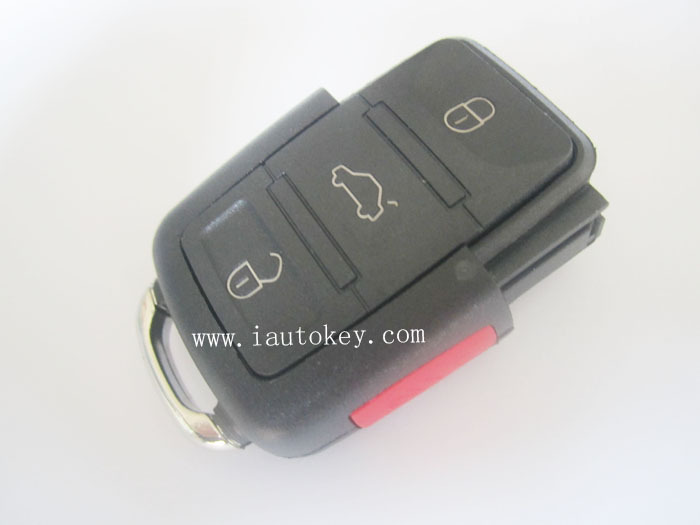 10pcs/lot 1J0 959 753 T Remote Control 315MHZ for Volkswagen Car Keys(China (Mainland))
