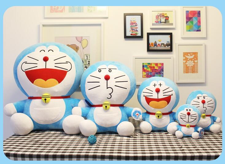DORAEMON plush toys Jingle cats doll soft 20CM PP cotton doll light blue plush toys doraemon kids birthday christmas toys(China (Mainland))