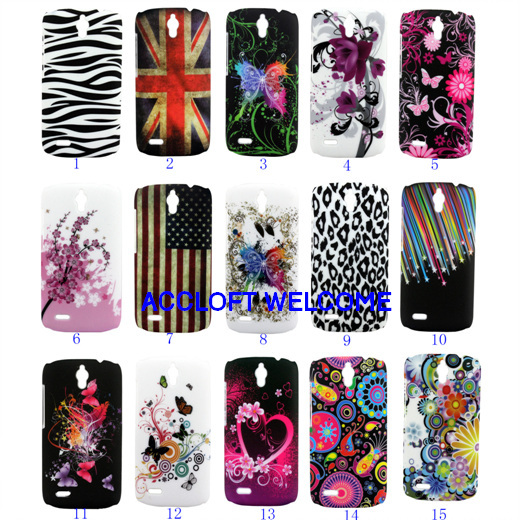 Huawei Ascend G610 Case ,Beautiful Floral Design Hard Phone Back Cover G610s C8815 1pc/lot - accloft .COM's store