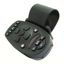 New 1pcs Universal Steering Wheel IR Remote Control for Car Video DVD GPS MP3 16 keys High-capacity memory