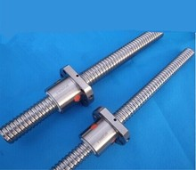 SFU1605 – 850mm Ballscrew with ball screw nut for CNC part without end machined