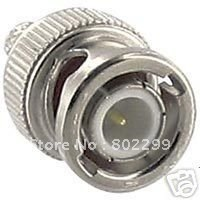 100 x BNC Male Crimp Style Connector For RG58/RG59 Coax