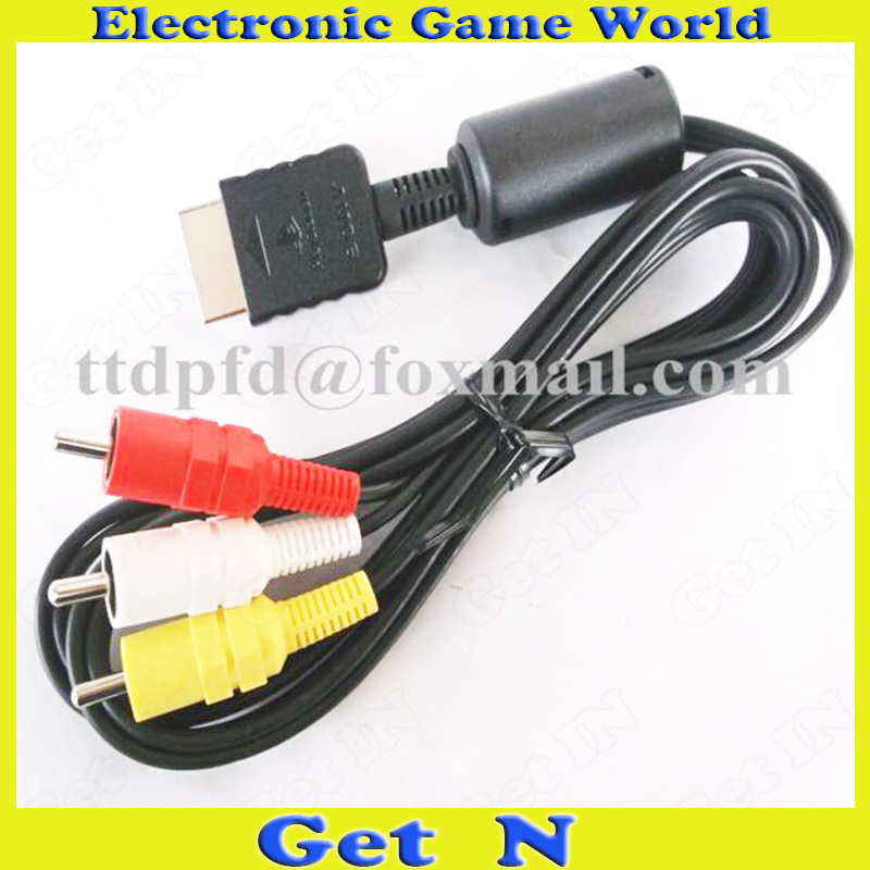 Здесь можно купить  25pcs/lot Original New Audio Video Cables AV Cable Connection for Sony PS2 PS3 25pcs/lot Original New Audio Video Cables AV Cable Connection for Sony PS2 PS3 Электротехническое оборудование и материалы